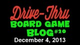 "Drive Thru Board Game Blog #20 – ""Charity Auction, Board Game Bling, and My Entire Collection Reviewed in 40 Minutes!?"""