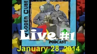 Wooden Cubes & Iron Soldiers Live Webcast #1