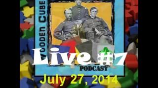Wooden Cubes & Iron Soldiers Webcast #7 – Gen Con Extravaganza with guest Richard Ham!