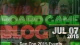 Gen Con 2015 Events