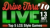 "Drive Thru Live #10 – ""Top 5 LCG Style Games"""