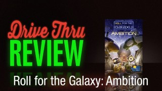 Roll for the Galaxy: Ambition Review