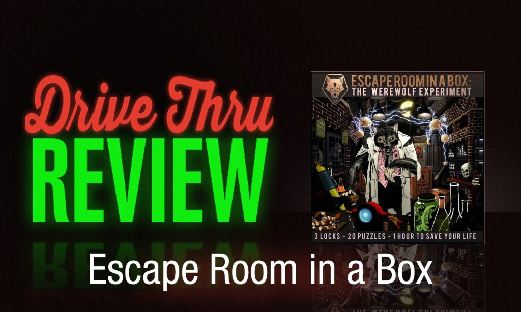 escape room in a box review drive thru review. Black Bedroom Furniture Sets. Home Design Ideas