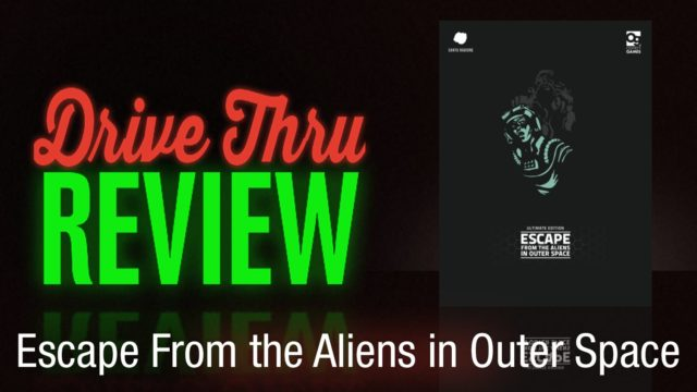 Escape From the Aliens in Outer Space Review