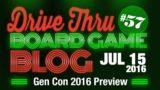 Gen Con 2016 Preview