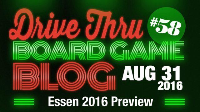 Essen 2016 Preview