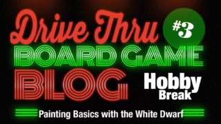 Hobby Break #3 – Painting Basics with the White Dwarf