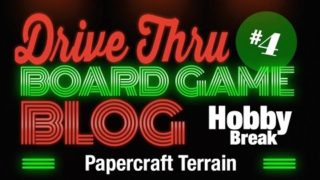 Hobby Break #4 – Papercraft Terrain
