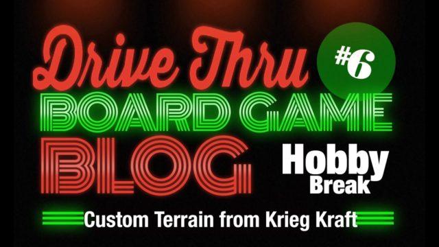 Hobby Break #6 – Custom Terrain from Krieg Kraft