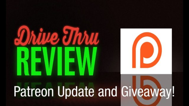 Patreon Update and Giveaway!
