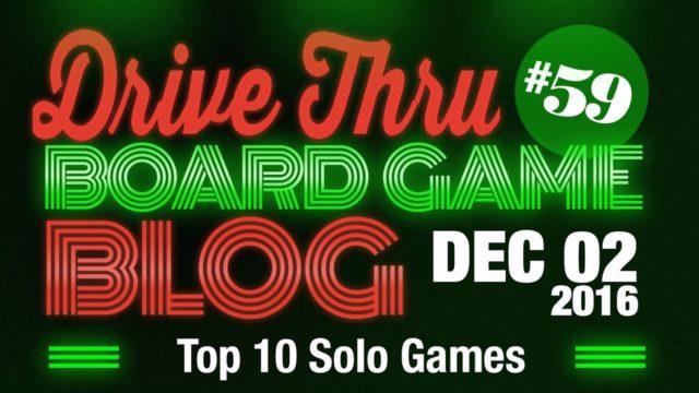 Top 10 Solo Games